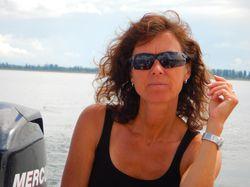 Segel- und Motorbootlehrerin Claudia Matthaei