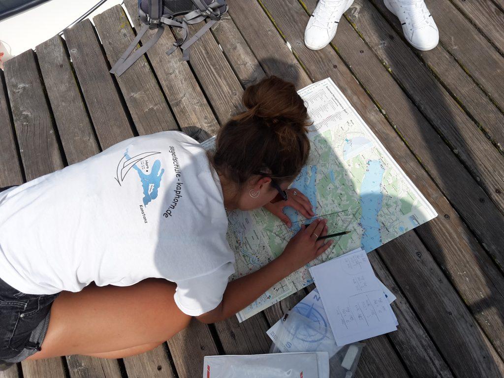 Navigation - Übungen am Steg