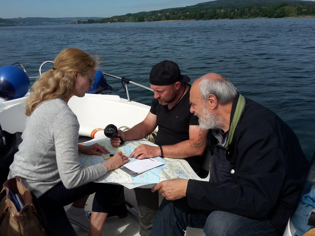 Motorbootkurs Zusatzprüfung Navigation